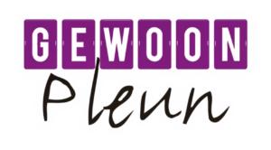 Logo klant Gewoon Pleun